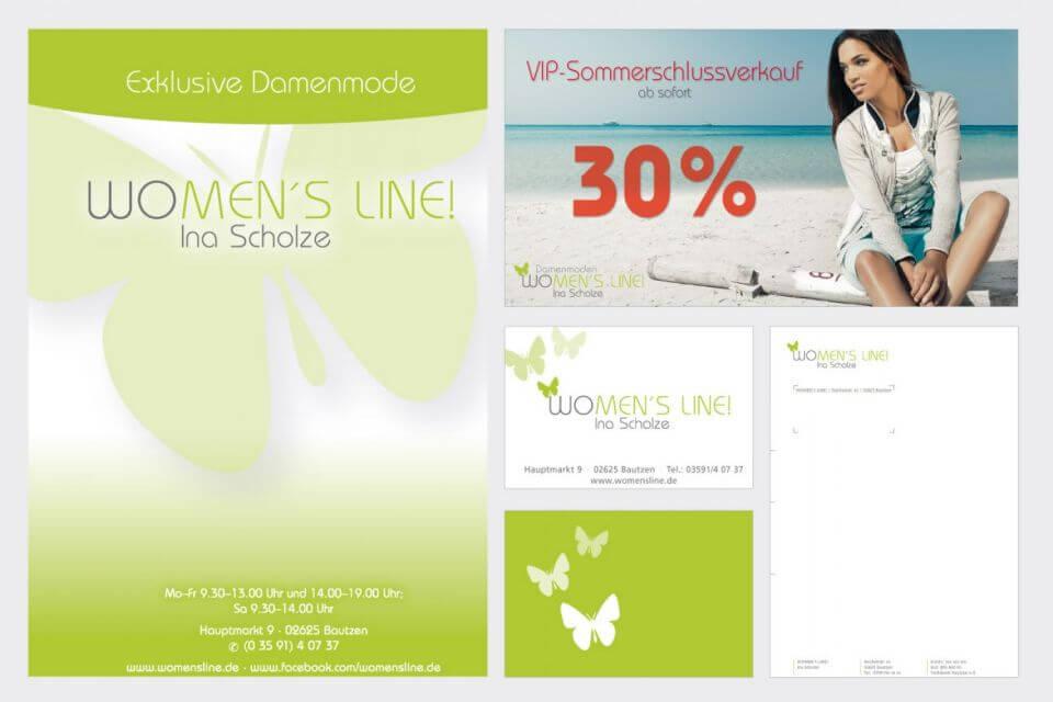 Geschäftsausstattung »Womens Line«