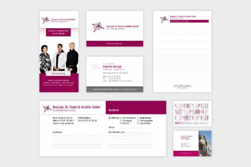 Geschäftsunterlagen Borczyk, Dr. Rudel & Schäfer